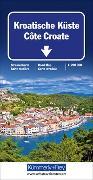 Cover-Bild zu Kroatische Küste. 1:200'000 von Hallwag Kümmerly+Frey AG (Hrsg.)