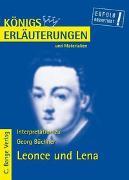 Cover-Bild zu Leonce und Lena von Georg Büchner von Büchner, Georg