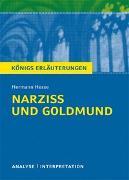 Cover-Bild zu Narziß und Goldmund von Hermann Hesse von Hesse, Hermann