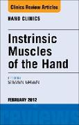 Cover-Bild zu Intrinsic Muscles of the Hand, An Issue of Hand Clinics - E-Book (eBook) von Green, Steven