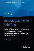 Cover-Bild zu Autobiographische Schriften (eBook) von König, René