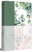 Cover-Bild zu Biblia RVR 1960 letra grande Tapa dura y tela verde con flores tamaño manual / Spanish Bible RVR 1960 Handy Size Large Print Hardcover Cloth with Green Floral