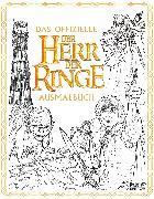 Cover-Bild zu Das offizielle »Der Herr der Ringe«-Ausmalbuch von Tolkien, J.R.R.