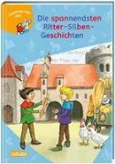 Cover-Bild zu LESEMAUS zum Lesenlernen Sammelbände: Die spannendsten Ritter-Silben-Geschichten von Mechtel, Manuela