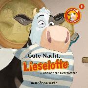 Cover-Bild zu Lieselotte Filmhörspiele, Folge 3: Gute Nacht, Lieselotte (Vier Hörspiele) (Audio Download) von Krämer, Fee