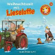 Cover-Bild zu Lieselotte Filmhörspiele, Folge 12: Weihnachtszeit mit Lieselotte (Vier Hörspiele) (Audio Download) von Krämer, Fee