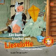 Cover-Bild zu Lieselotte Filmhörspiele, Folge 10: Ein bunter Herbst mit Lieselotte (Vier Hörspiele) (Audio Download) von Krämer, Fee
