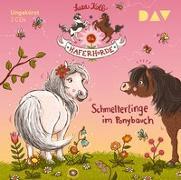Cover-Bild zu Die Haferhorde - Teil 4: Schmetterlinge im Ponybauch von Kolb, Suza
