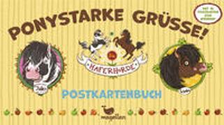 Cover-Bild zu Die Haferhorde - Ponystarke Grüße! - Postkartenbuch von Kolb, Suza