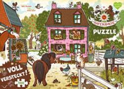Cover-Bild zu Die Haferhorde - Voll versteckt! (Puzzle) von Kolb, Suza