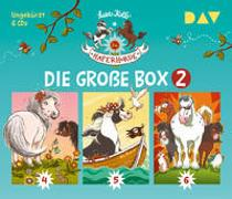 Cover-Bild zu Die Haferhorde - Die große Box 2 (Teil 4-6) von Kolb, Suza