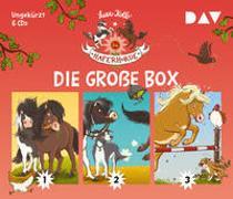 Cover-Bild zu Die Haferhorde - Die große Box (Teil 1-3) von Kolb, Suza