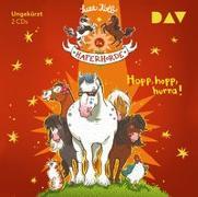 Cover-Bild zu Die Haferhorde - Teil 6: Hopp, hopp, hurra! von Kolb, Suza