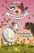 Cover-Bild zu Die Haferhorde - Schmetterlinge im Ponybauch - Band 4 von Kolb, Suza