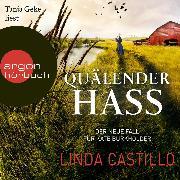 Cover-Bild zu Quälender Hass - Kate Burkholder ermittelt, (gekürzt) (Audio Download) von Castillo, Linda