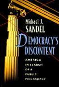 Cover-Bild zu Democracy's Discontent von Sandel, Michael J.