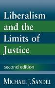 Cover-Bild zu Liberalism and the Limits of Justice von Sandel, Michael J.