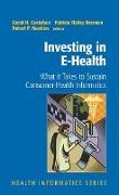 Cover-Bild zu Investing in E-Health von Gustafson, David H. (Hrsg.)