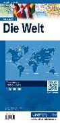 Cover-Bild zu Hallwag Kümmerly+Frey AG (Hrsg.): Welt politisch Karte. 1:50'000'000