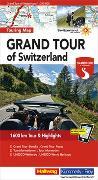 Cover-Bild zu Hallwag Kümmerly+Frey AG (Hrsg.): Grand Tour of Switzerland Touring Map Strassenkarte 1:275 000. 1:275'000