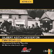 Cover-Bild zu Pater Brown, Folge 22: Die purpurfarbene Perücke (Audio Download) von Chesterton, Gilbert Keith