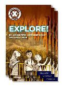 Cover-Bild zu Project X Comprehension Express: Stage 1: Explore! Pack of 15 von Pimm, Janice