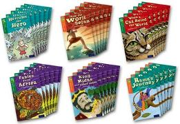 Cover-Bild zu Oxford Reading Tree TreeTops Myths and Legends: Levels 12 and 13: Pack of 36 von Knapman, Timothy
