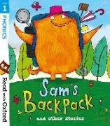Cover-Bild zu Read with Oxford: Stage 1: Sam's Backpack and Other Stories von Heapy, Teresa