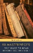 Cover-Bild zu 50 Masterpieces you have to read before you die vol: 1 (eBook) von Austen, Jane