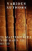 Cover-Bild zu 50 Masterpieces you have to read (eBook) von Austen, Jane