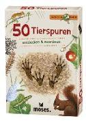 Cover-Bild zu 50 Tierspuren von Kessel, Carola von