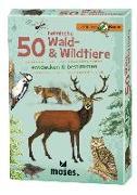 Cover-Bild zu 50 heimische Wald- & Wildtiere