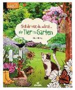 Cover-Bild zu Stell dir vor, du wärst...ein Tier im Garten von Oftring, Bärbel