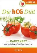Cover-Bild zu Die hCG Diät - Das Kartenset von Hild, Anne