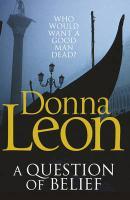 Cover-Bild zu A Question of Belief (eBook) von Leon, Donna