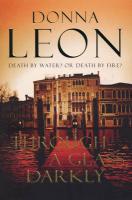 Cover-Bild zu Through a Glass Darkly (eBook) von Leon, Donna