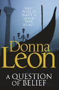 Cover-Bild zu A Question of Belief von Leon, Donna