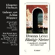Cover-Bild zu Blutige Steine (Audio Download) von Leon, Donna