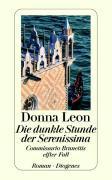 Cover-Bild zu Die dunkle Stunde der Serenissima von Leon, Donna