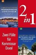Cover-Bild zu Zwei Fälle für Kommissar Duval (2in1-Bundle) (eBook) von Cazon, Christine