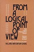 Cover-Bild zu From a Logical Point of View von Quine, Willard Van Orman