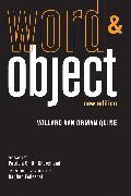 Cover-Bild zu Word and Object von Quine, Willard Van Orman