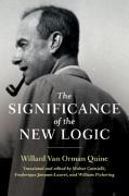Cover-Bild zu The Significance of the New Logic von Quine, Willard Van Orman