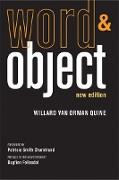 Cover-Bild zu Word and Object, new edition (eBook) von Quine, Willard van Orman