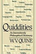 Cover-Bild zu Quiddities von Quine, Willard Van Orman