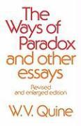 Cover-Bild zu The Ways of Paradox and Other Essays von Quine, Willard Van Orman