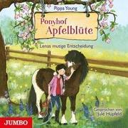 Cover-Bild zu Ponyhof Apfelblüte. Lenas mutige Entscheidung von Young, Pippa