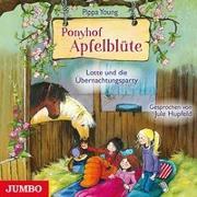 Cover-Bild zu Ponyhof Apfelblüte. Lotte und die Übernachtungsparty von Young, Pippa