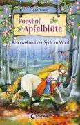 Cover-Bild zu Ponyhof Apfelblüte 8 - Rapunzel und der Spuk im Wald von Young, Pippa