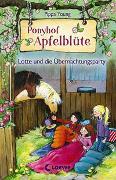 Cover-Bild zu Ponyhof Apfelblüte 12 - Lotte und die Übernachtungsparty von Young, Pippa